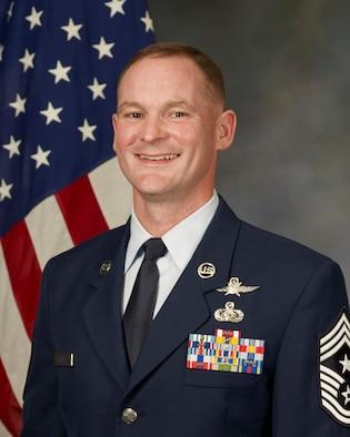 Command Chief Master Sgt. Jeffrey Sandusky