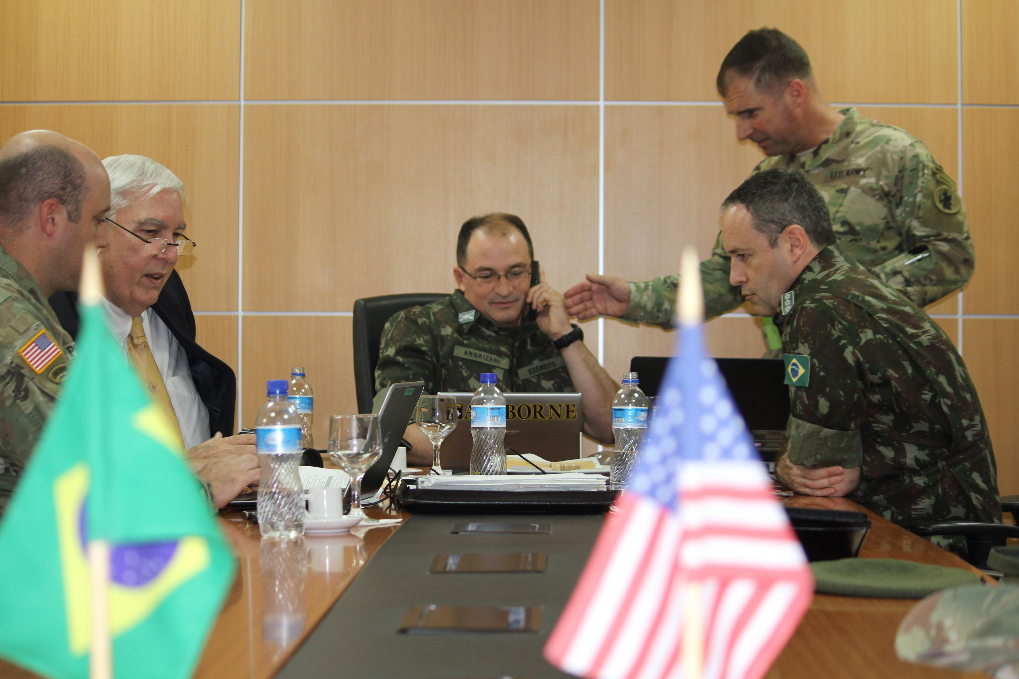Brazil Us Armies Reach Agreement Us Southern Command News
