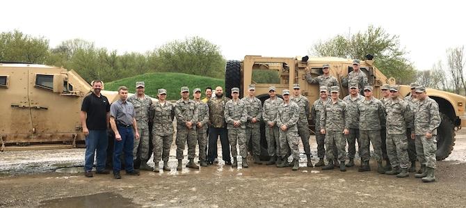 115th FW USRs tour Oshkosh Defense