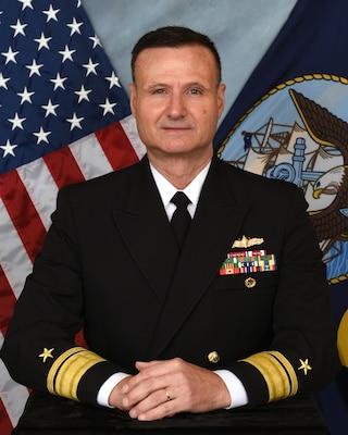 Rear Admiral William Galinis