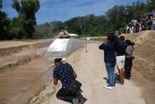 ERDC conducts water egress terrain surfacing demonstration