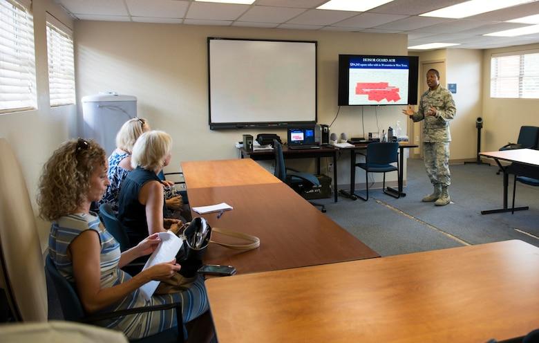 Texas Congressmen visit Dyess Air Force Base