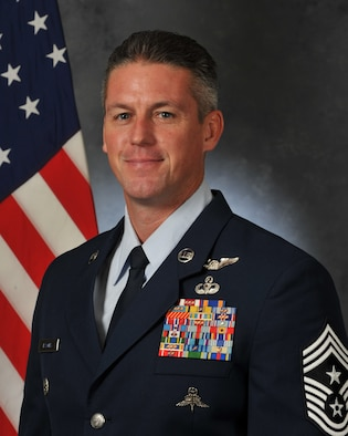 Chief Master Sergeant Douglas C. Isaacks, 920th Rescue Wing Command Chief