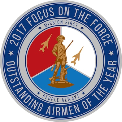 Official seal for the Air National Guard's 2017 Focus on the Force Week, a week-long event celebrating the contributions and excellence of the ANG enlisted corps. (Air National Guard illustration)