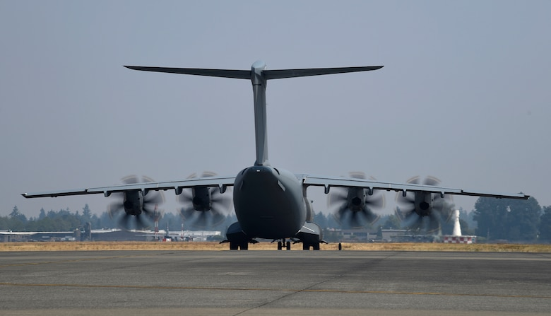 Rear view of A400 Atlas