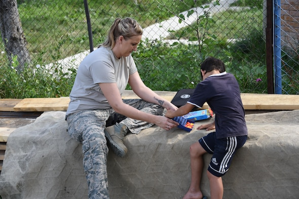 Arizona Air Guardsman's lifesaving skills tested in foreign country