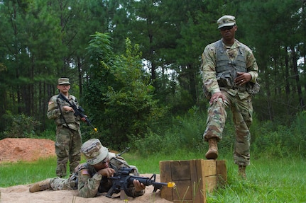 Army Reserve drill sergeants at Fort Jackson