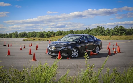 Army Reserve Soldiers sharpen driving skills during special training course