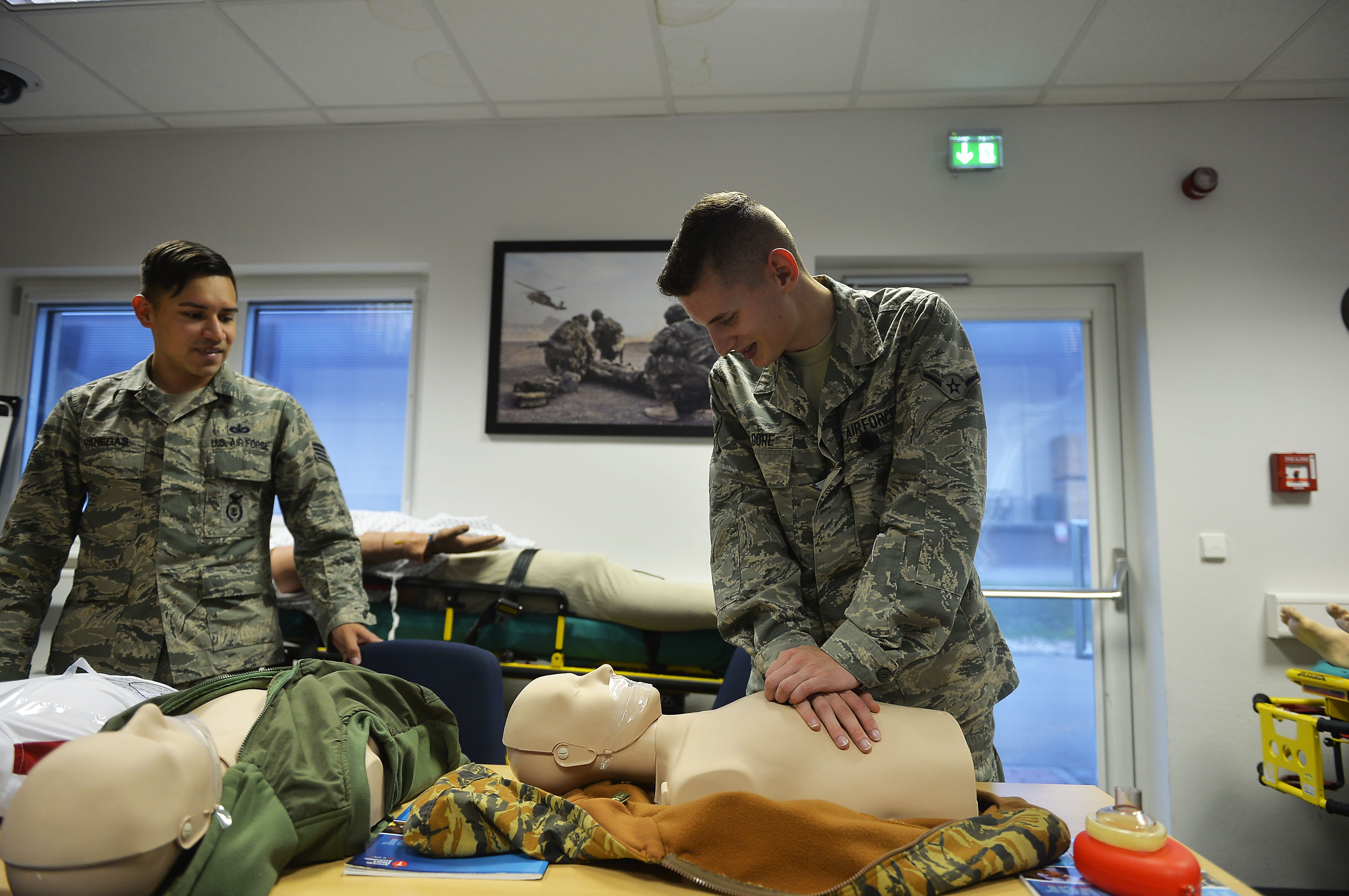Want To Teach Cpr Air Force Medical Service Display