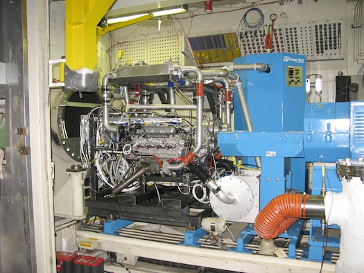 AEDC test facility resurrected for AFRL-sponsored testing of high-efficiency, diesel engine