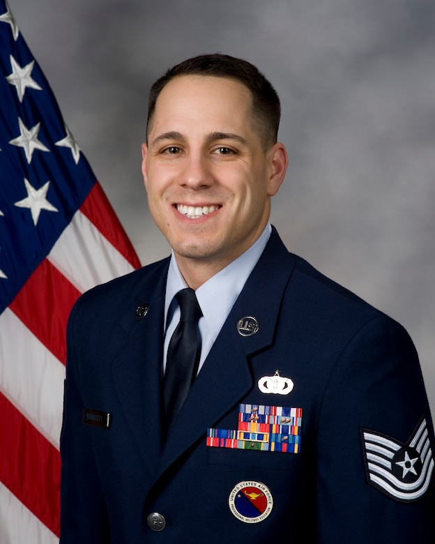 Tech. Sgt. Chad Hardesty, 436th Airlift Wing Airman Leadership School instructor.