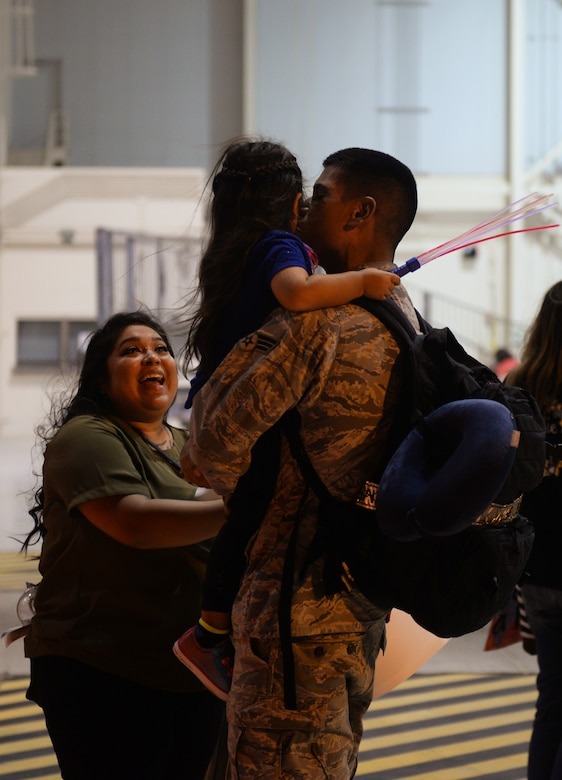 7th Bomb Wing Airmen return home from Guam deployment