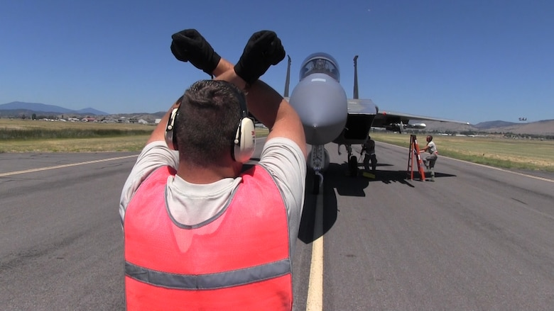 Arm in F-15 Eagle