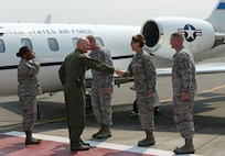 Air Mobility Command commander visits McChord