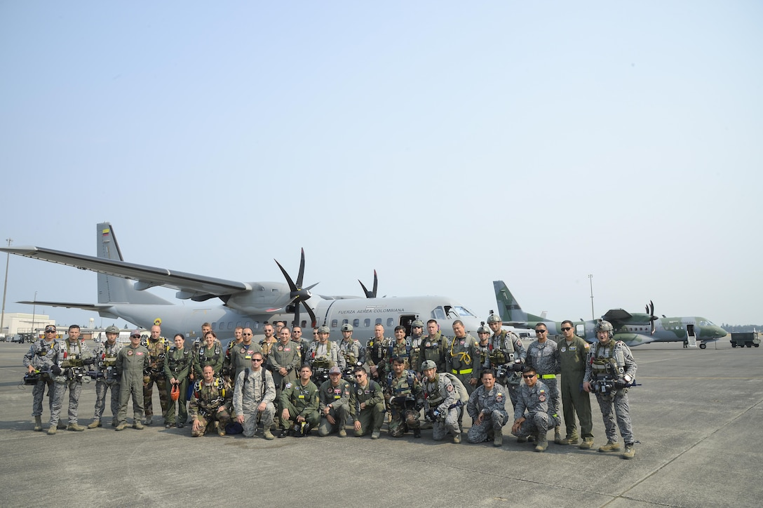 Colombian Air Force leads multinational airdrop mission