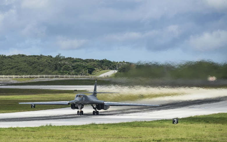 South Dakota Airmen arrive ready to 'Fight Tonight' from Guam