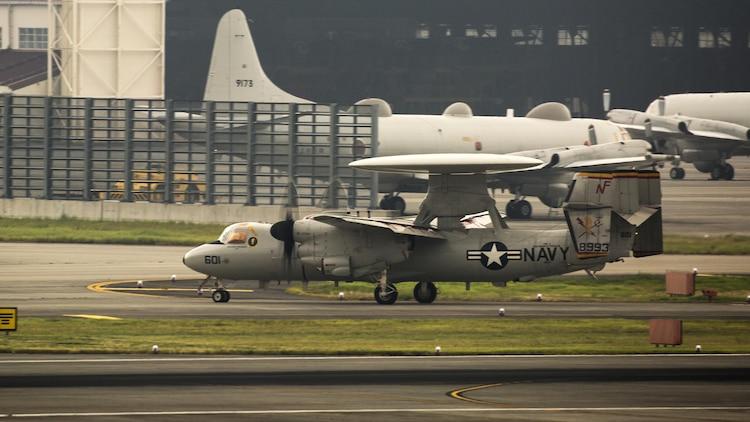 VAW-125 returns to MCAS Iwakuni