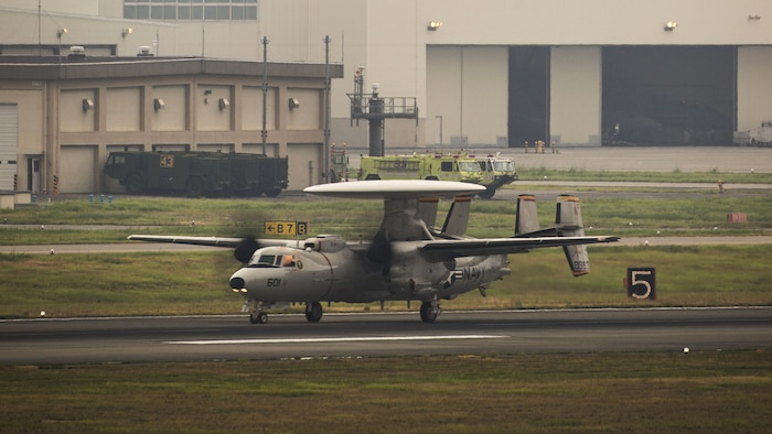 VAW-125 returns to MCAS Iwakuni