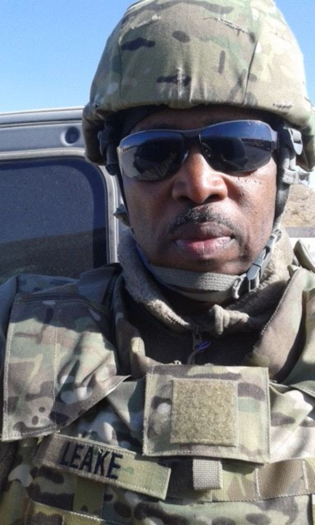 Harvey Leake, who is a quality assurance engineer at the Defense Contract Management Agency, deployed to Afghanistan from December 2015 to December 2016. He served as the Central Command's Combating Trafficking in Persons program manager and deployed as a part of the Civilian Expeditionary Workforce program. (Photo courtesy of Harvey Leake)