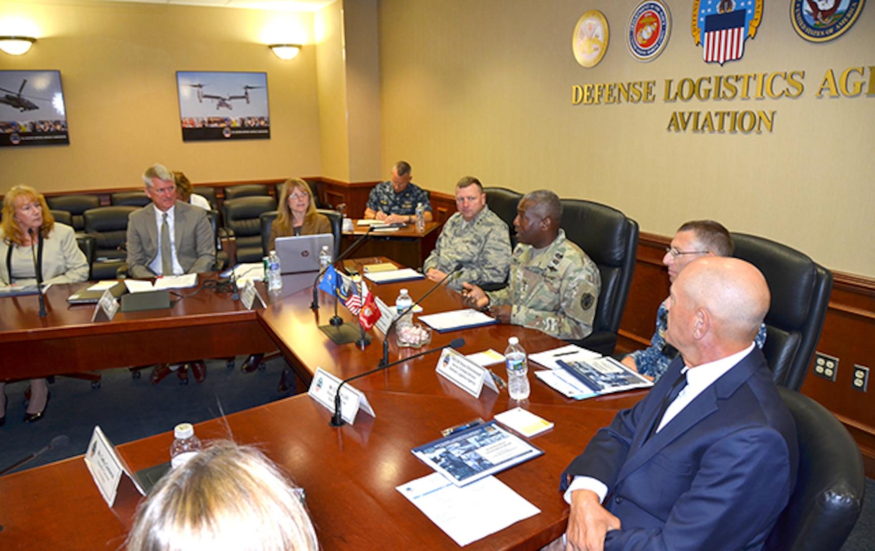 DLA directors receives DLA Aviation overview