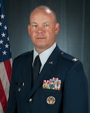 Official portrait of U.S. Air Force Col. William R. Davis, 157th Air Refueling Wing vice commander, New Hampshire Air National Guard, July 11, 2017, Pease Air National Guard Base, N.H.
