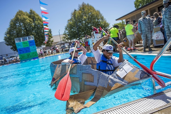Seventeen teams from around the base competed in the annual boat regatta at Scott. The 375th Logistics Readiness Squadron finished 1st, winning for the second consecutive year.