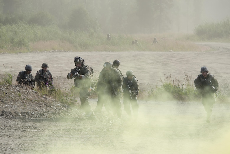 Green Berets train during RF-A 17-3
