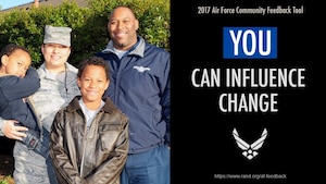 Air Force officials are asking for help from the community to identify gaps and strengths in services at their local installations through the Community Feedback Tool.
