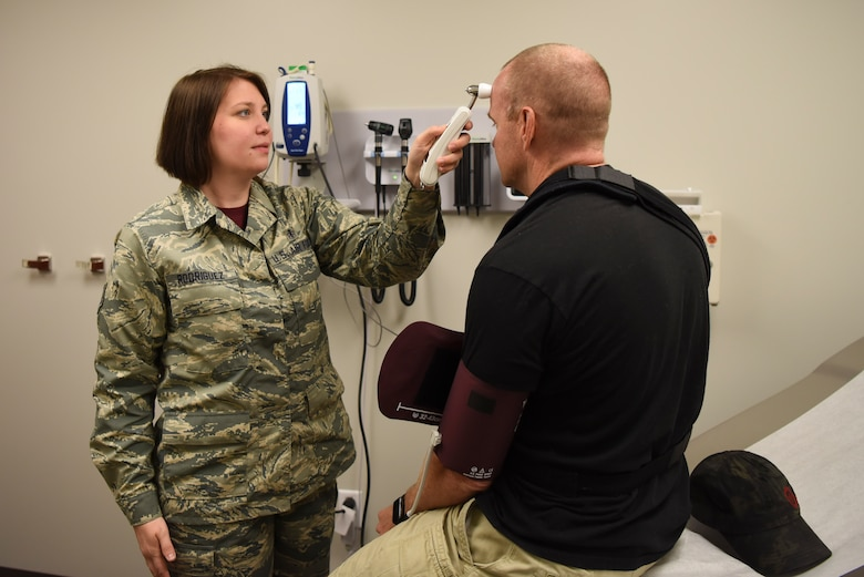 The Flight Medicine unit on Buckley AFB opened their new on-base facility, making it much more convenient for Team Buckley to receive medical treatment. (U.S. Air Force photo by Airman 1st Class Holden S. Faul/Released)
