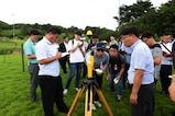 U.S. Forces Korea representatives and members of the Republic of Korea Ministry of Environment traveled to the Terminal High Altitude Area Defense (THAAD) location to conduct an environmental study at Seongju, Republic of Korea, Aug. 10, 2017. The ROK and the U.S. continues to coordinate on all aspects of the deployment of the THAAD system to South Korea. This is being done in a transparent way and in compliance with ROK domestic law.