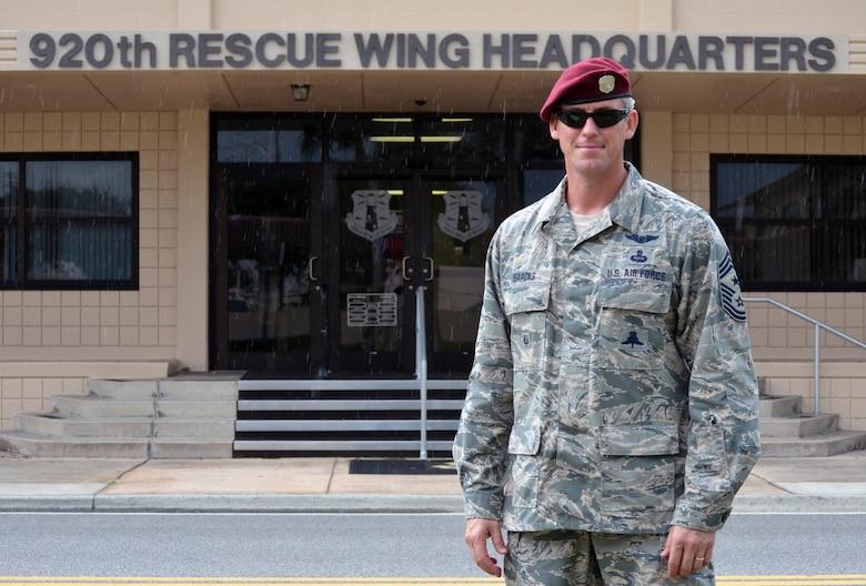 Command Chief Master Sgt. Douglas Isaacks