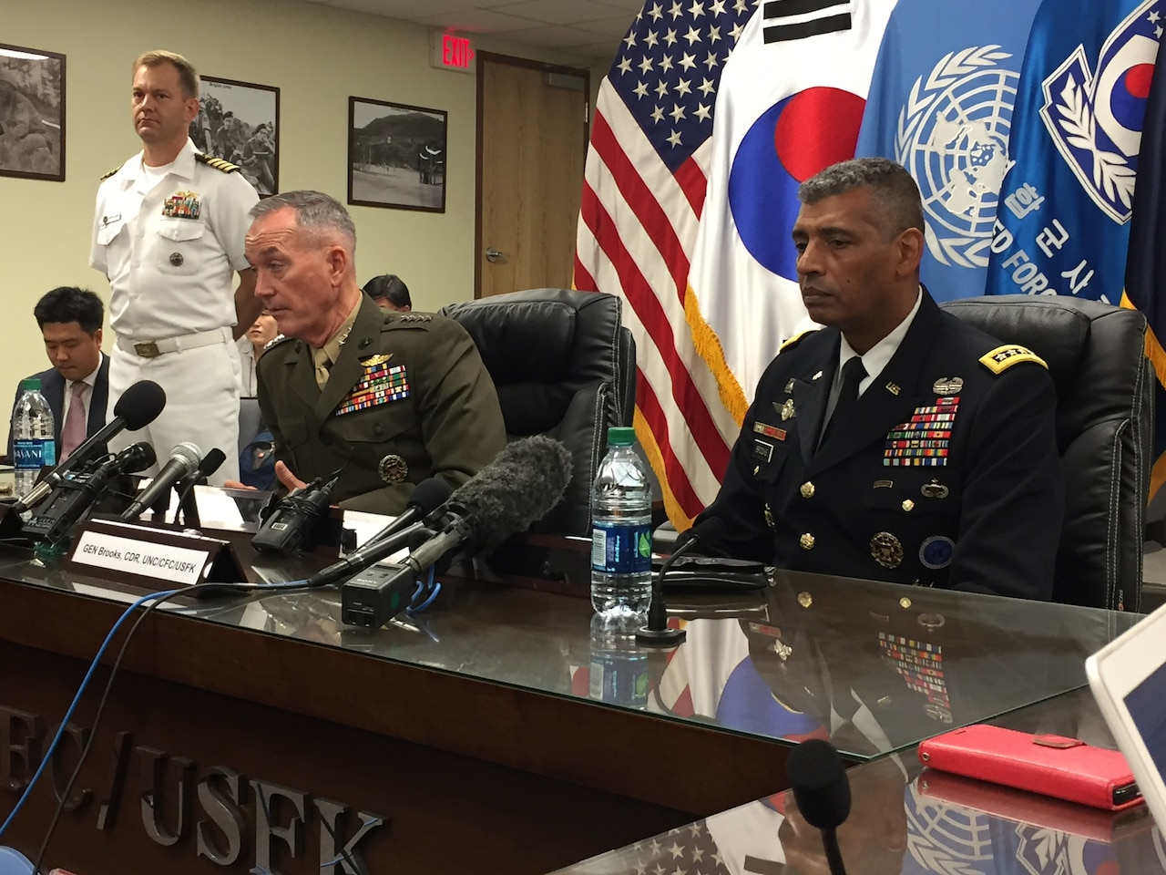 Dunford: U S -South Korean Alliance Ready to Defend Against