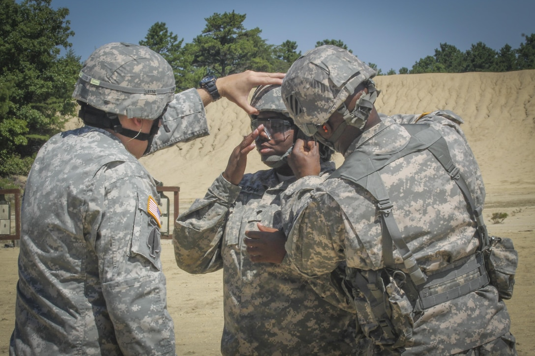 More than 100 Army Reserve Soldiers from the 335th SC (T) Headquarters in East Point, Georgia are at the base conducting a variety of training exercises as part of the unit's annual training.