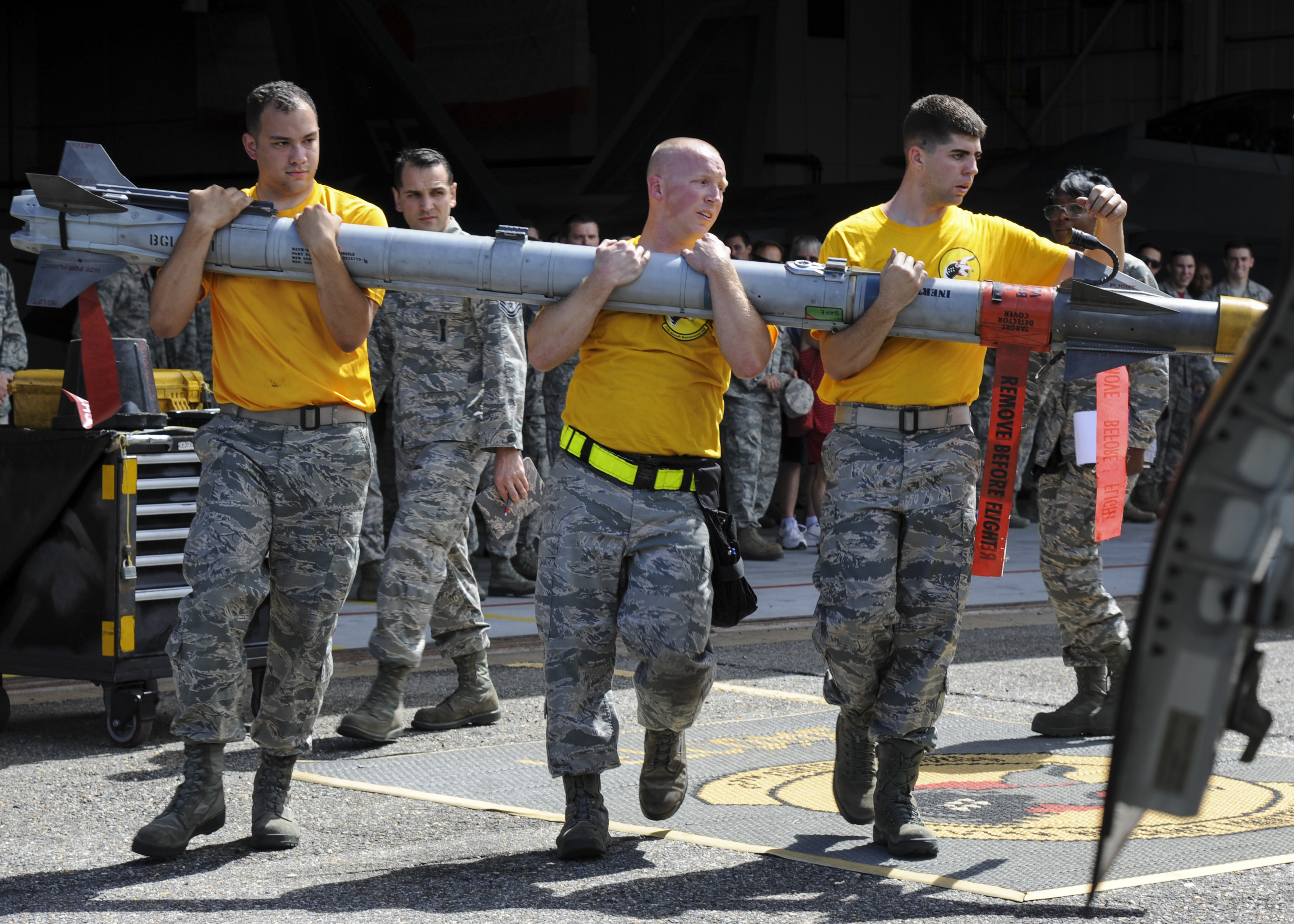 Lock and load: 94 AMU wins load competition