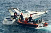 Photo of Coast Guard drug interdiction