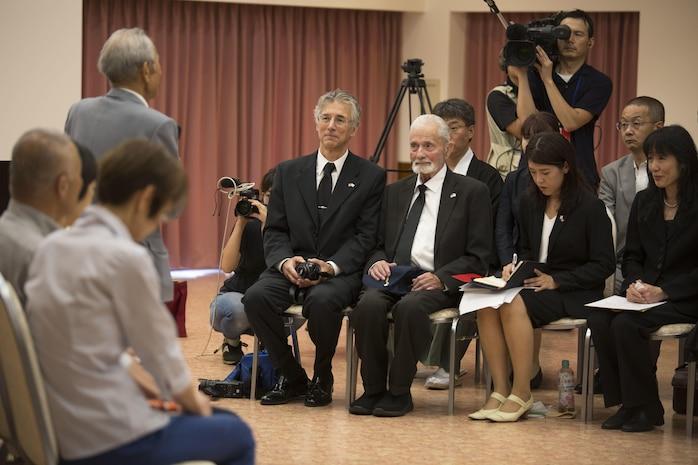 Marine returns Japanese WWII flag to original family