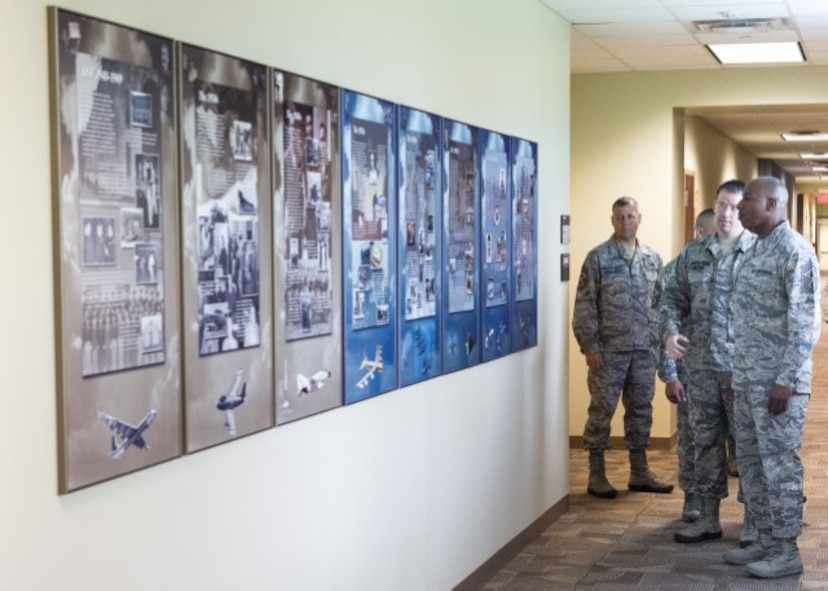 CMSAF Wright at OSI Enlisted Heritage Hall