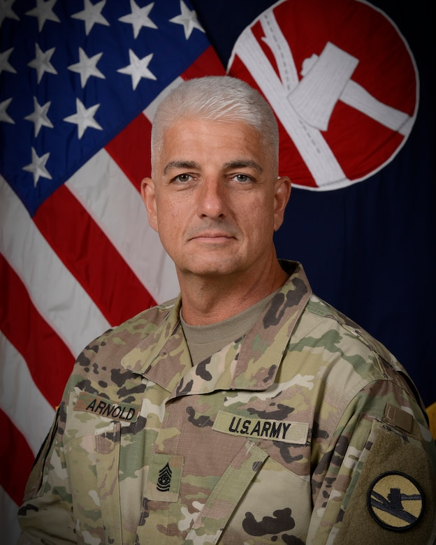 Command Sgt. Maj. Lawrence C. Arnold
