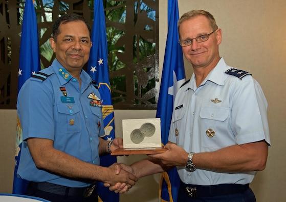 U.S., Bangladesh Airmen increase interoperability during talks