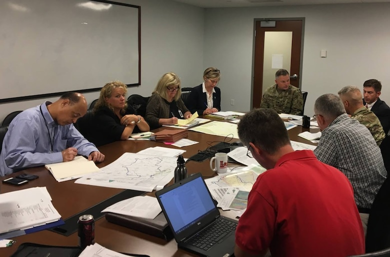 Working meeting with the Bureau of Land Management