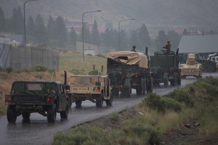 Convoys Combat Logistics Battalion 5