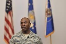 CMSAF Kaleth O. Wright visits 70th ISRW Airmen