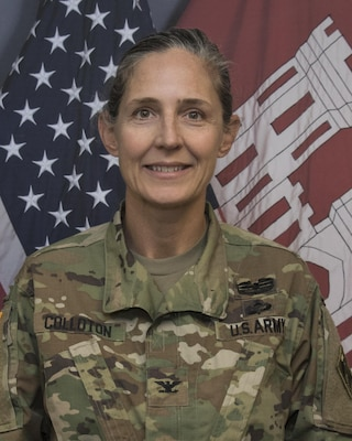 Col. Kimberly Colloton officially assumed command of the U.S. Army Corps of Engineers (USACE), Transatlantic Afghanistan District (TAA), during a change of command ceremony Saturday at Bagram Airfield, Afghanistan. Colloton comes to TAA after previously serving as the commander for both the USACE Albuquerque and Los Angeles Districts and is TAA's first female commander.