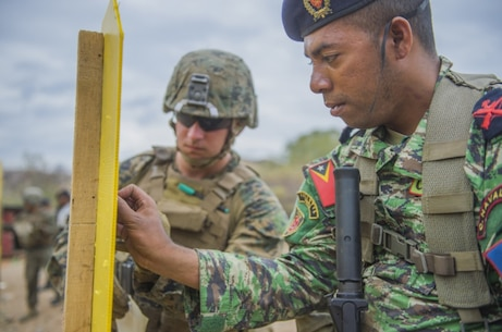 METINARO TRAINING BASE, Timor-Leste (July 31, 2017) - Cpl. Trevor Hoffman,