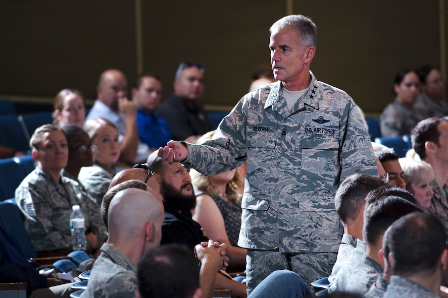 Lt. Gen. Jay Silveria All Call August 2017