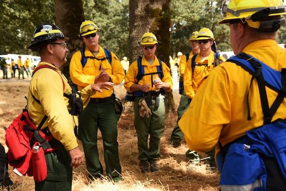Training prepares Oregon Guardsmen for fighting fires