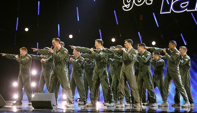 In the Stairwell performs on America's Got Talent. (NBC courtesy photo)