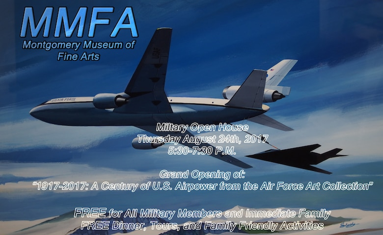 Air Force Art to be Featured at Montgomery Musuem Of Fine Arts