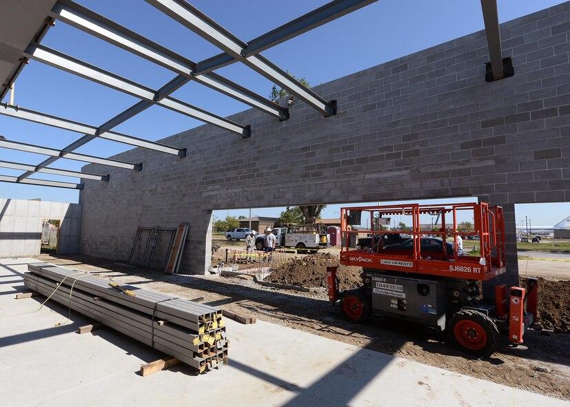 Offutt construction projects in full swing