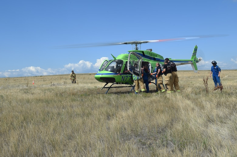 Team Buckley participated in a base-wide joint service exercise Aug. 16-18, 2017, at Buckley Air Force Base, Colo.
